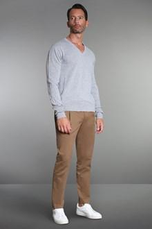 Ballantyne Pullover in cashmere grigio