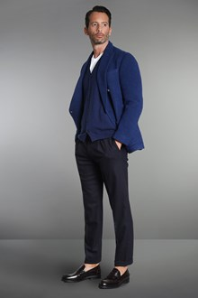 Ballantyne Gilet in cashmere in maglia rasata