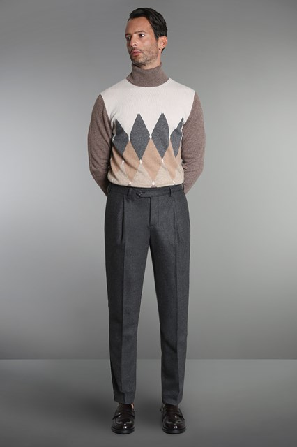 Ballantyne Classic pleated trousers