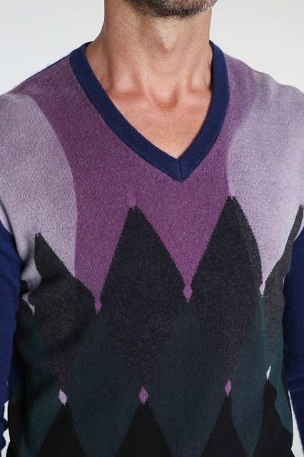 Ballantyne Classic diamond Lab pullover