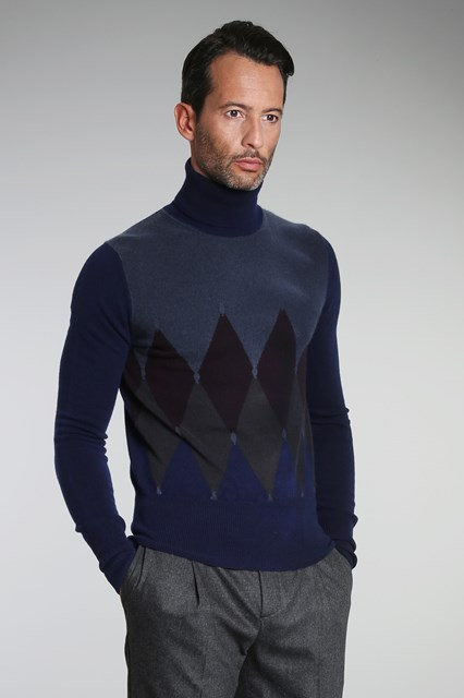 Ballantyne Classic diamond Lab turtleneck
