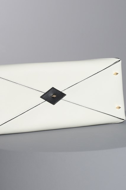 "Ballantyne White ""Diamond"" bag"