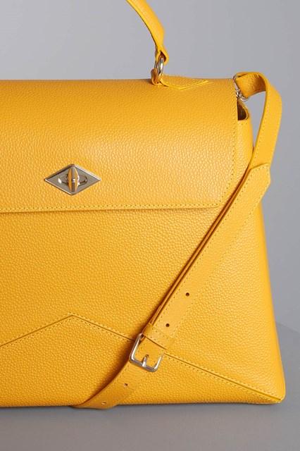 "Ballantyne Yellow ""Diamond"" bag"