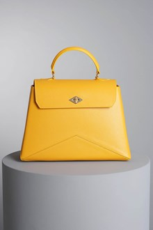 "Ballantyne Yellow ""Diamond"" bag"
