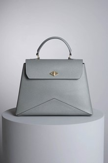 "Ballantyne ""Diamond"" steel-colored bag"