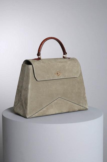 "Ballantyne ""Diamond"" olive green-colored bag"