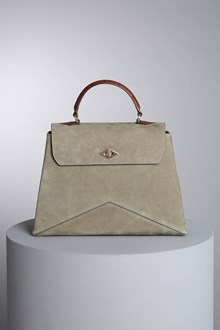 "Ballantyne ""Diamond"" olive green-colored bag"