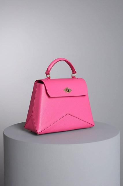 """Ballantyne """"Diamond"""" fuchsia bag"""