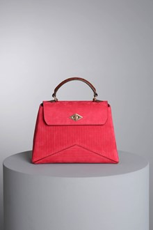 "Ballantyne Borsa ""Diamond"" in nabuk bordeaux"