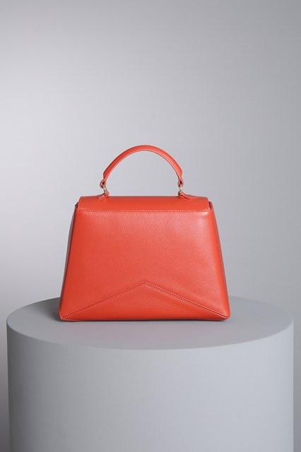 """Ballantyne """"Diamond"""" mandarine orange bag"""
