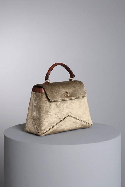 """Ballantyne """"Diamond"""" velvet bag"""