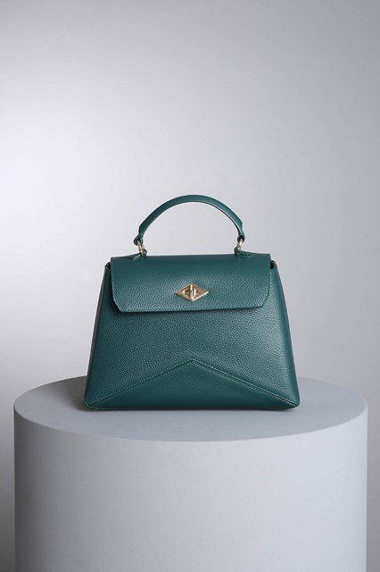"Ballantyne ""Diamond"" dark green bag"