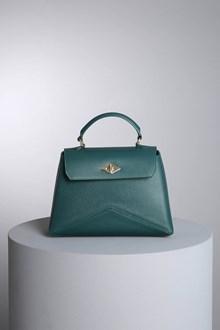 "Ballantyne ""Diamond"" dark green bag"