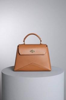 """Ballantyne """"Diamond"""" camel color bag"""