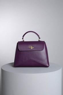 "Ballantyne ""Diamond"" purple bag"