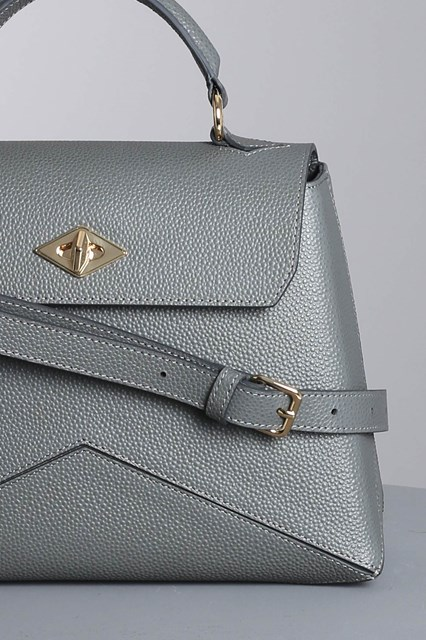 "Ballantyne ""Diamond"" steel color bag"