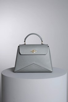 "Ballantyne Borsa ""Diamond"" color acciaio"