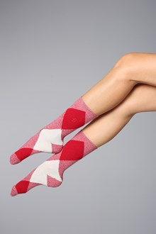 Ballantyne Diamond woman socks
