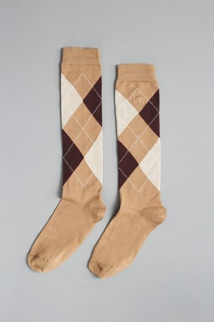 Ballantyne Argyle men socks