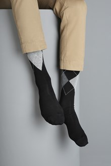 Ballantyne Argyle men socks