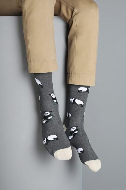 Ballantyne Panda men socks