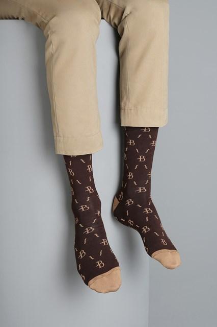 Ballantyne Men monogram socks