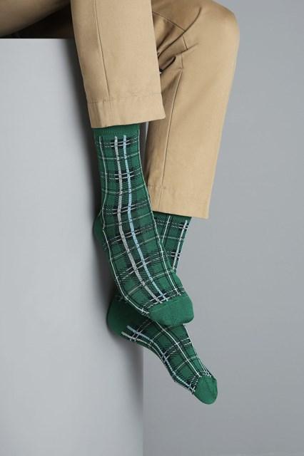Ballantyne Men tartan socks