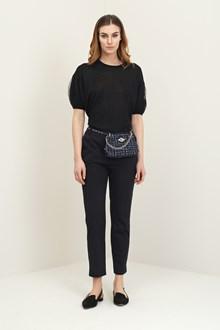 Ballantyne Black vanisè shiny sweater