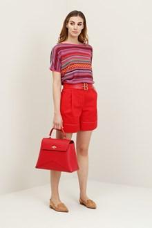 Ballantyne Multicolor jacquard sweater