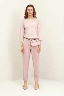 Ballantyne Maglia basica in cotone color rosa amido