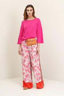 Ballantyne Basic pullover in fucshia cotton