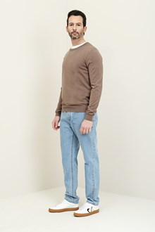Ballantyne Neutral beige crewneck pullover