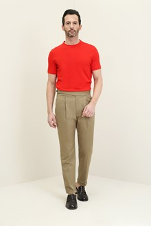 Ballantyne Red cotton t-shirt
