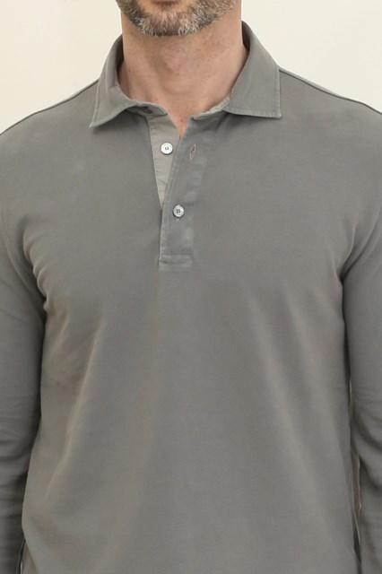 69a64a9e7 ballantyne Long sleeve pique polo available on ballantyne.it - 914