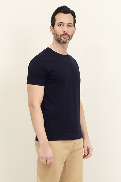 Ballantyne Blue basic t-shirt