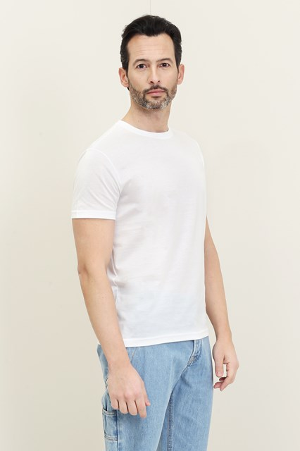 Ballantyne White basic t-shirt