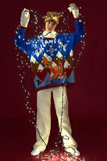 Ballantyne Lab Calendar Dicember woman sweater