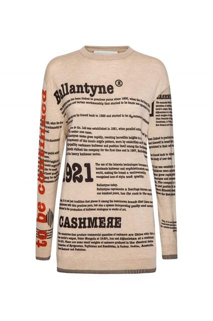 Ballantyne Lab Calendar September man sweater