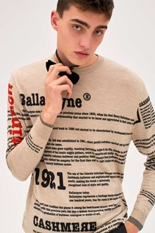 Ballantyne Lab Calendar September man sweater