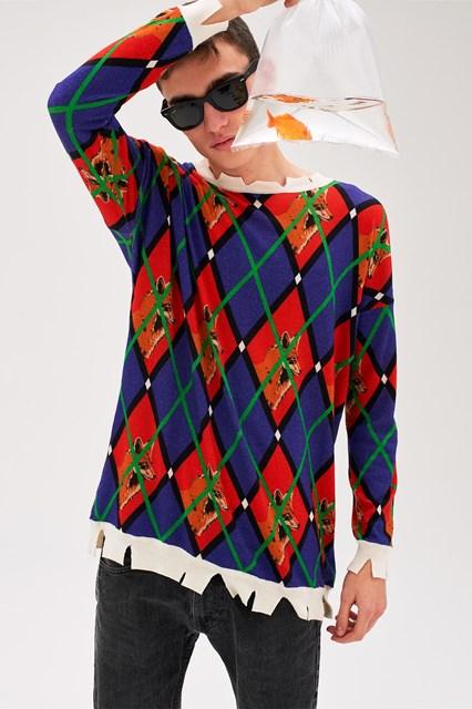 Ballantyne Lab Calendar June Man sweater
