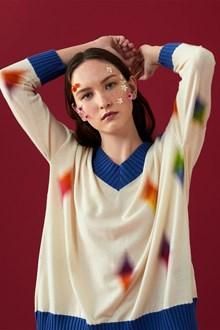 Ballantyne Lab Calendar May woman sweater