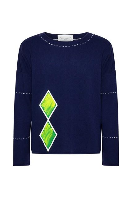 Ballantyne February Calendar Lab man sweater