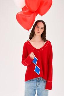 Ballantyne Lab Calendar February woman sweater