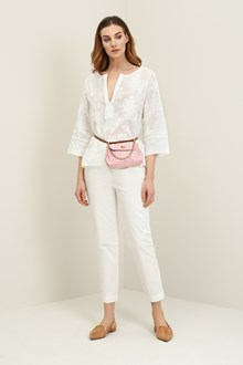 Ballantyne Embroidered oversize blouse