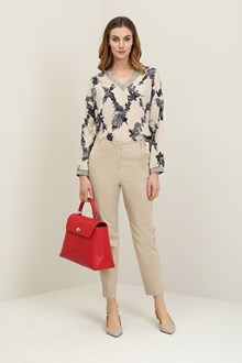 Ballantyne Flower diamond blouse