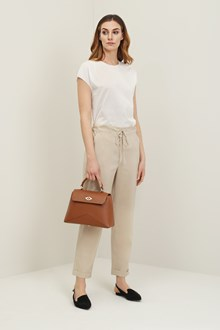 Ballantyne Soft silk trousers